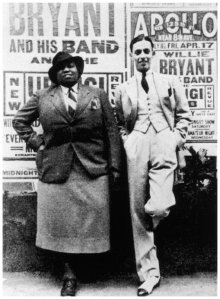 bentley and bandleader willie bryant-1936